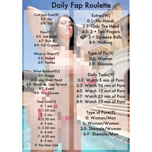 Daily Fap Roulette