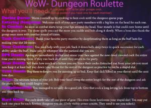 Oral Dungeon Run