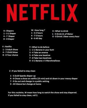 Netflix Diaper Challenge