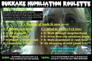 Bukkake Humiliation Public Cumwalk Shame
