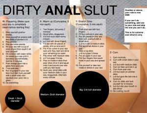 dirty anal slut
