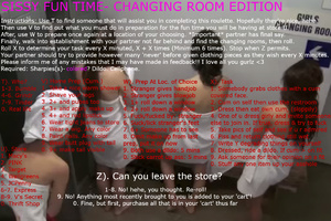 SISSY FUN TIME- CHANGING ROOM EDITION