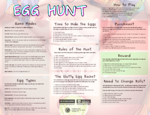 Egg Hunt - Easter