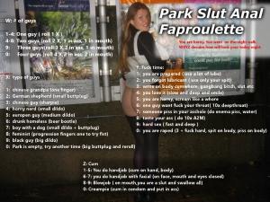 Public park faproulette hard
