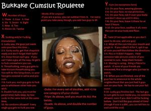Bukkake Cumslut Roulette