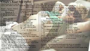 Road Trip Dare for Couples