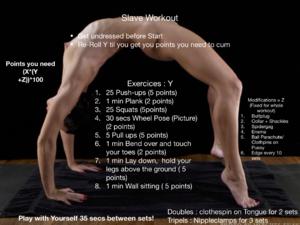 Slave workout