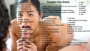 Couples Sex Game