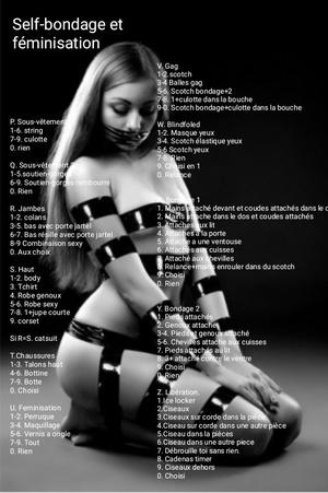 Self-bondage et féminisation