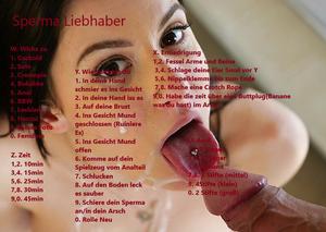 Sperma Liebhaber