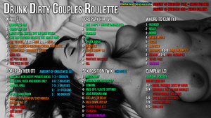 Drunk dirty couples roulette