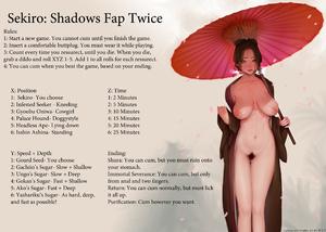 Sekiro: Shadows Cum Twice