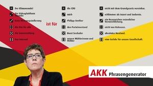 Annegret Kramp-Karrenbauer Generator