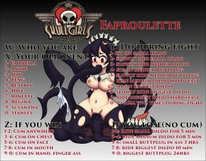 Skullgirls Faproulette