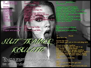 slut trainer roulette