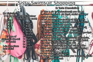 Sissy Swimsuit Shopping