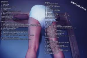 Messy Humiliating Diaper Fap Roulette