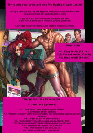 Pro edging arcade gamer