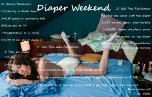 Diaper Weekend