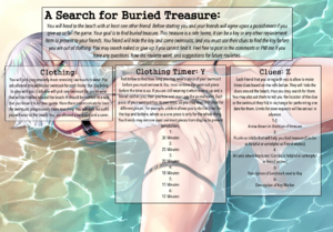 A Search for Buried Treasure