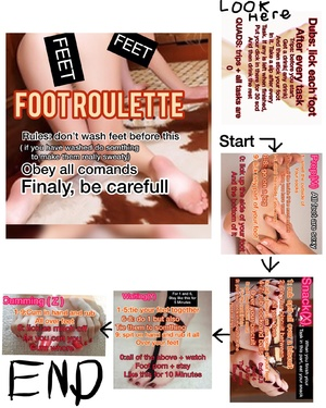 Foot roulette