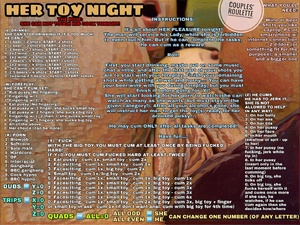 HER TOY NIGHT - Couples' Roulette