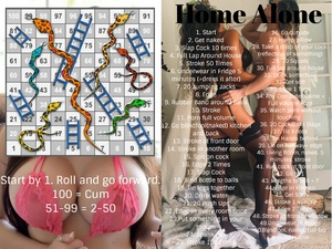 Home alone snake and ladders