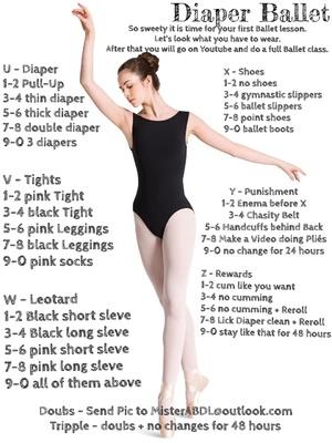 Diaper Ballet