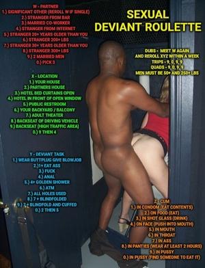 Sexual deviant roulette