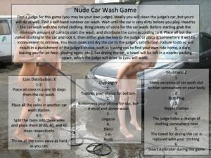 Nude Car Wash Game